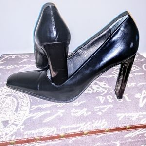 Casadei - Black Leather shoes